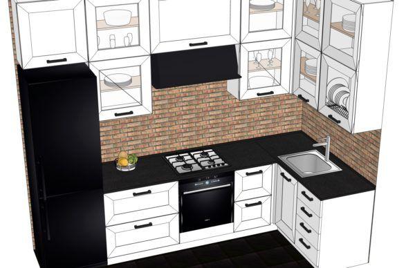 Конфигурация кухни Scandinavia — 2