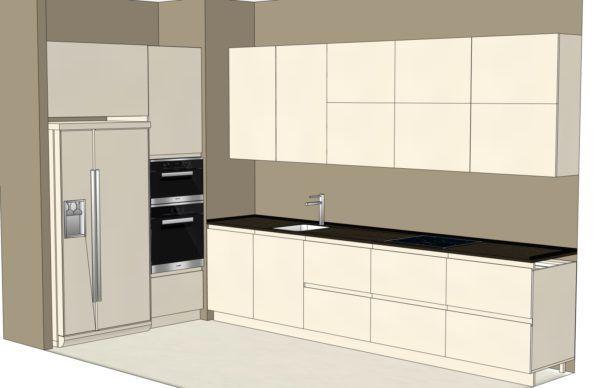 Конфигурация кухни Basic (мдф глянец) — 1