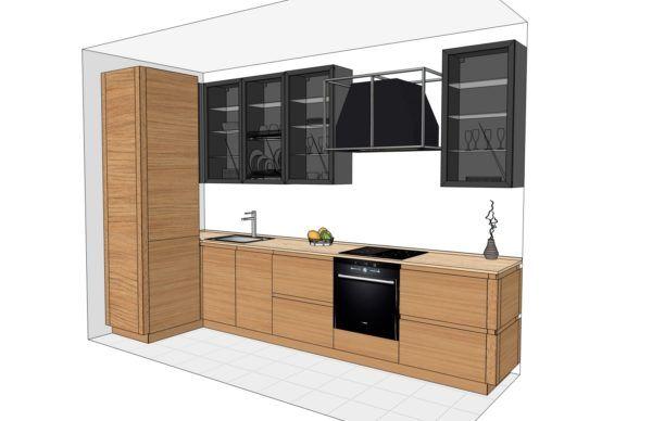 Конфигурация кухни Simple — 2
