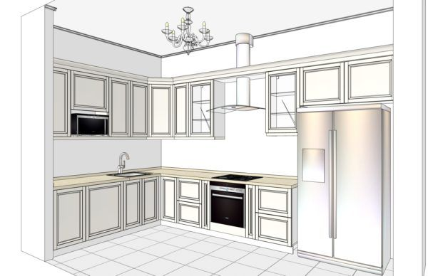 Конфигурация кухни Cristal — 5