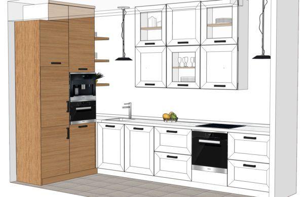 Конфигурация кухни Scandinavia — 1