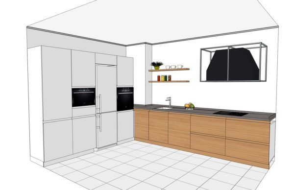 Конфигурация кухни Simple — 4