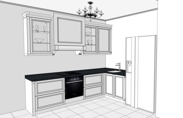 Конфигурация кухни City — 2
