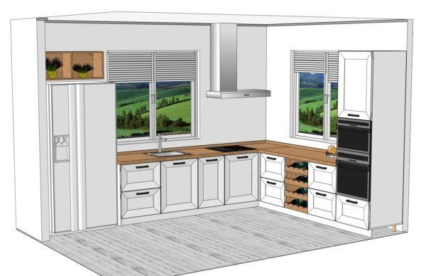 Конфигурация кухни Scandinavia — 3
