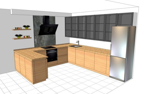 Конфигурация кухни Simple — 12