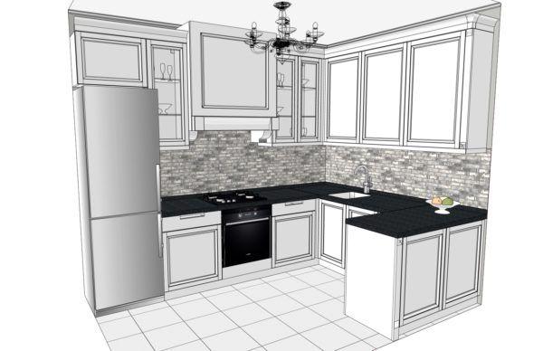 Конфигурация кухни City — 4