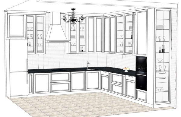 Конфигурация кухни City — 9