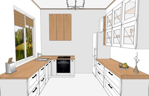 Конфигурация кухни Scandinavia — 4