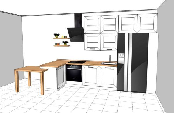 Конфигурация кухни Scandinavia — 6