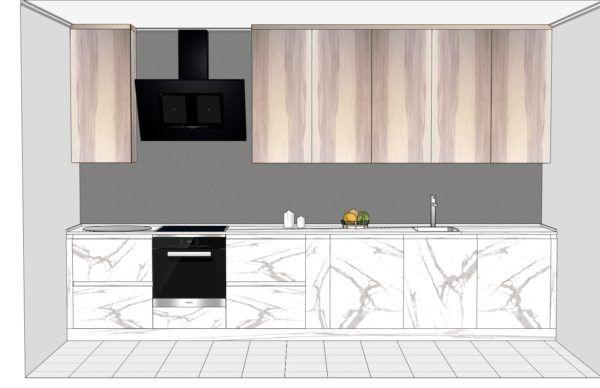 Конфигурация кухни Solid — 1