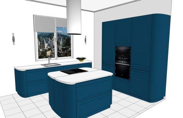 Конфигурация кухни Sfera – 1
