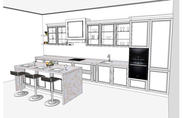 Конфигурация кухни Cristal — 3
