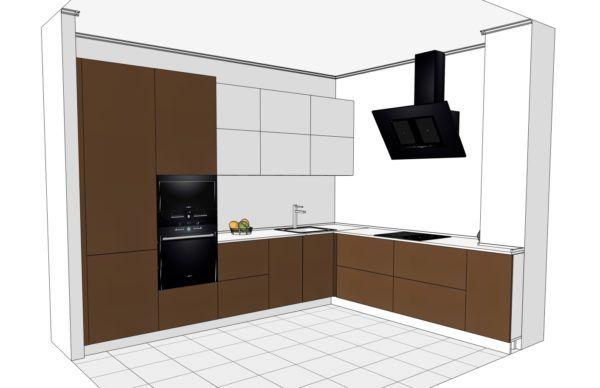 Конфигурация кухни Basic (мдф глянец) — 4