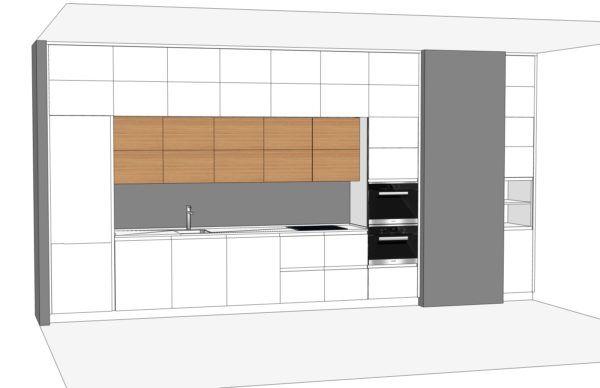Конфигурация кухни Basic (мдф глянец) — 6