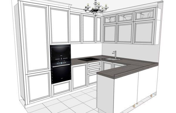 Конфигурация кухни Cristal — 4
