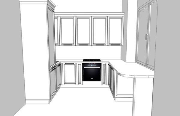Конфигурация кухни Cristal — 6