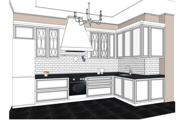 Конфигурация кухни L'avenue — 1