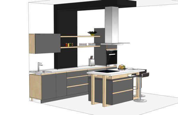 Конфигурация кухни Chia — 1