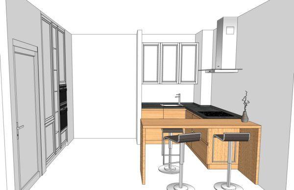 Конфигурация кухни Simple — 1