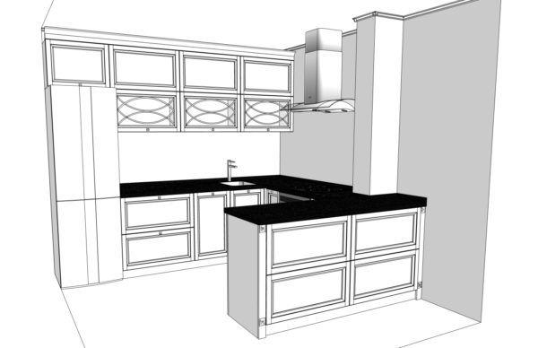 Конфигурация кухни L'avenue — 2