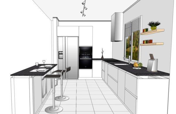 Конфигурация кухни Basic (мдф глянец) — 5