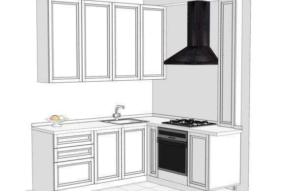 Конфигурация кухни Cristal — 2