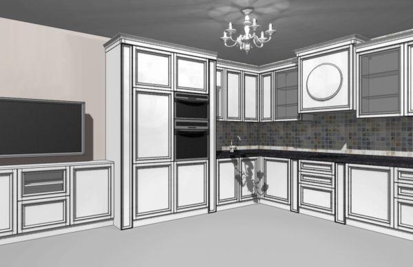 Конфигурации кухни Cristal — 7