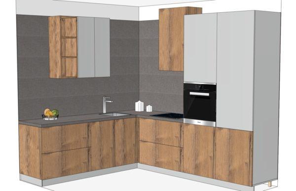 Конфигурации кухни Solid Loft