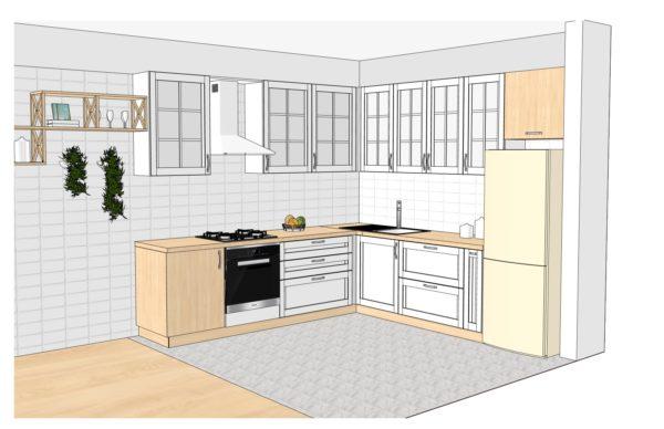 Конфигурации кухни Provence