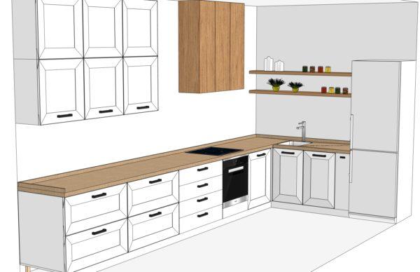 Конфигурации кухни Scandinavia