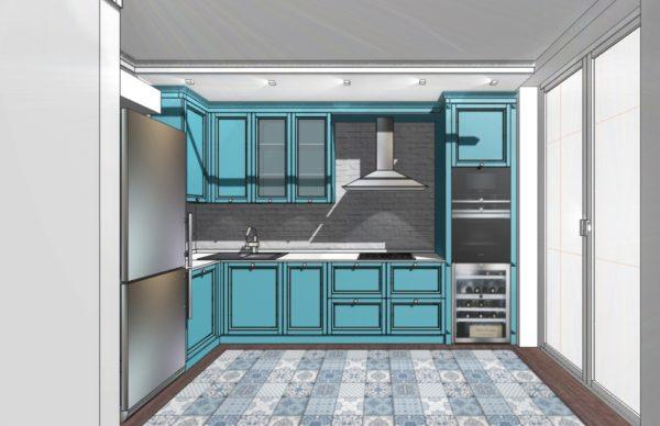 Конфигурация кухни City — 11
