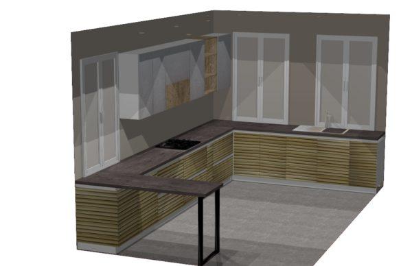 Конфигурация кухни — 1
