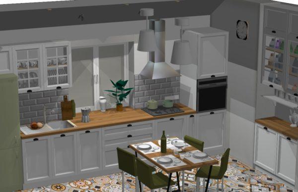 Конфигурация кухни Provence — 2