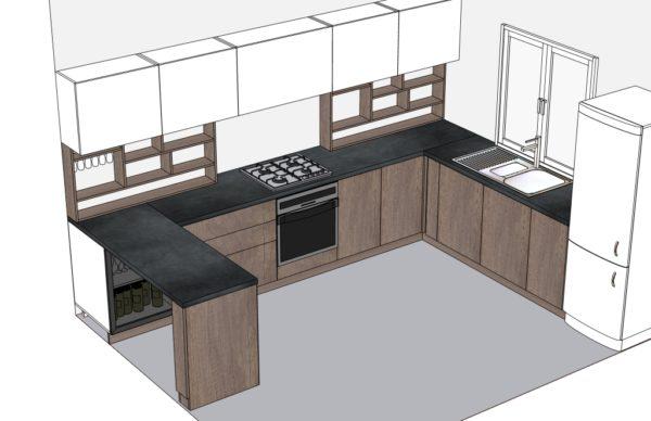 Конфигурация кухни Simple — 19