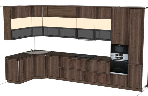Конфигурация кухни Simple — 14