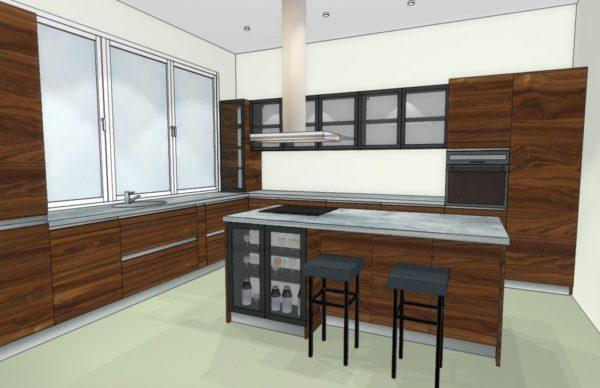Конфигурация кухни Simple — 18