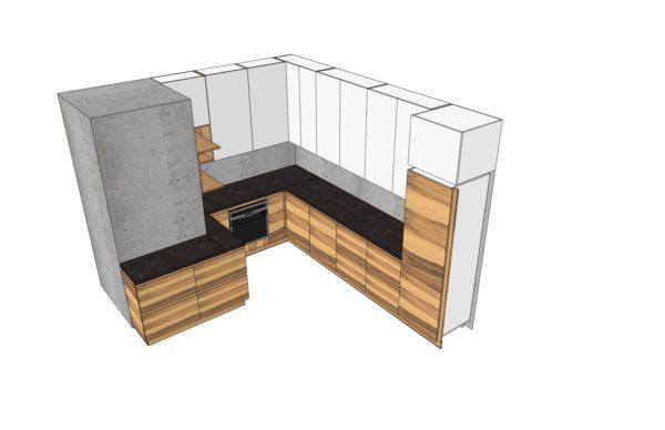 Конфигурации кухни Simple Dune
