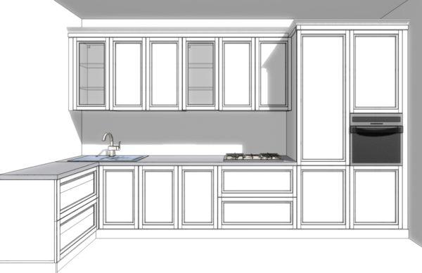 Конфигурация кухни City — 15