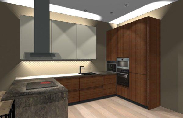 Конфигурация кухни Simple — 16