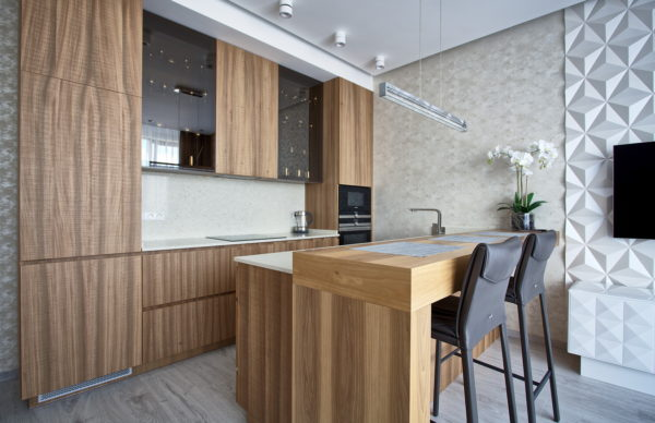 "Kitchen ""Simple"" with breakfast bar"